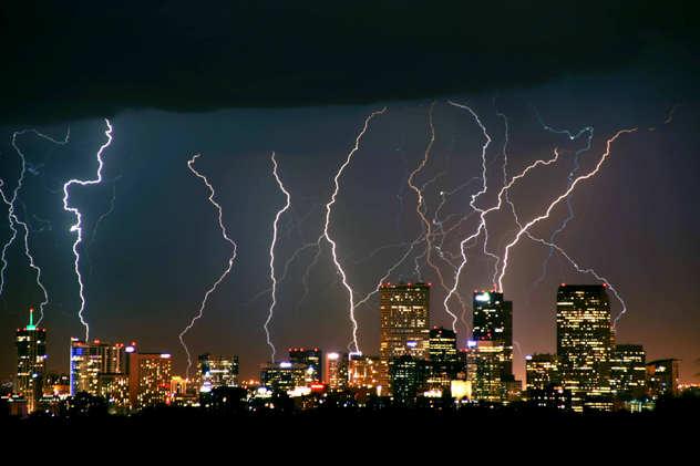 Lightning Strikes Denver