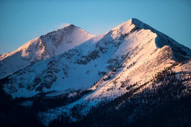 Sunrise on White Mountains