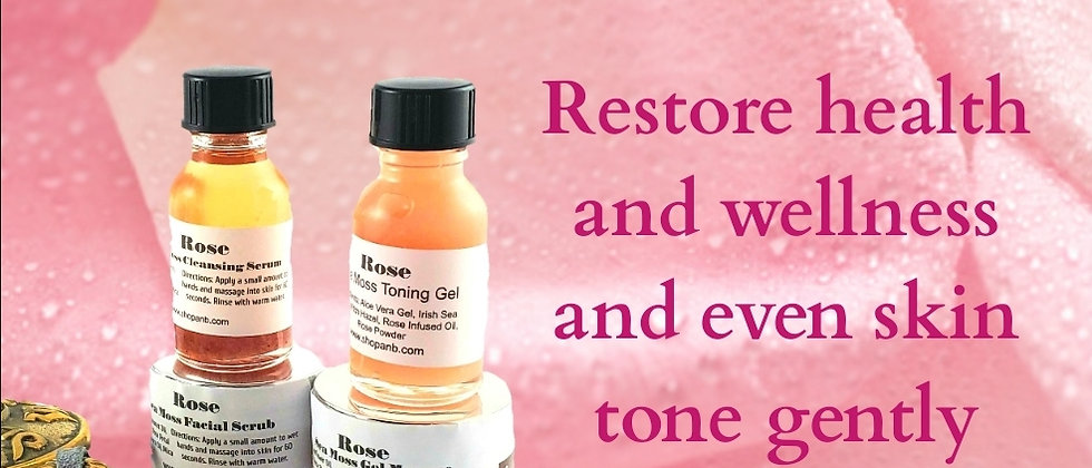 ROSE Sea Moss Restore Collection