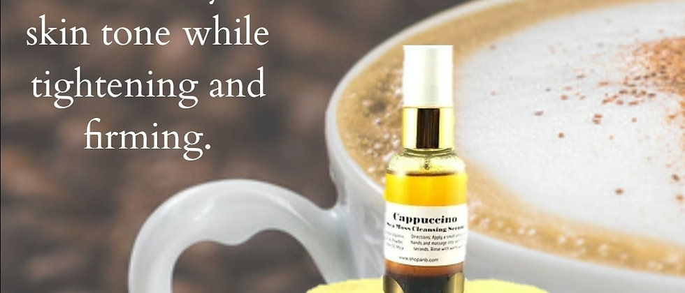 CAPPUCCINO Sea Moss Even Skin Collection