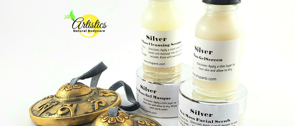 SILVER Sea Moss Skincare Collection