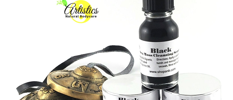 BLACK Sea Moss Skincare Collection