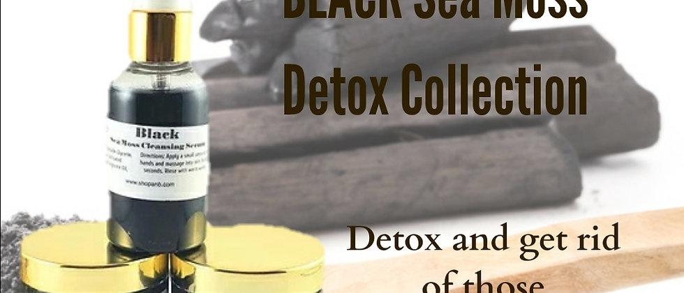 BLACK Sea Moss Detox Collection