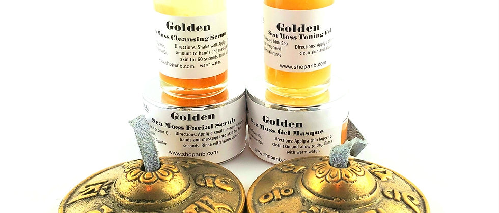 GOLDEN Sea Moss Skincare Collection