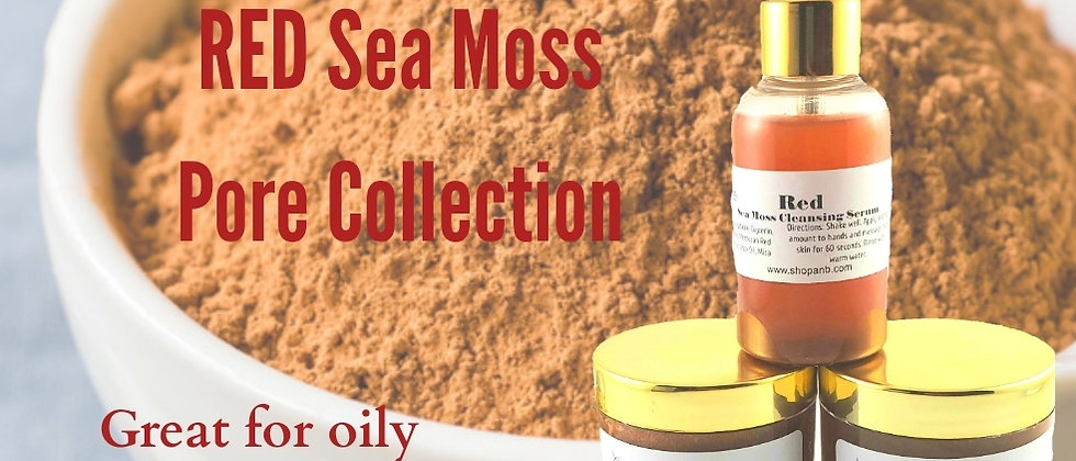 RED Sea Moss Pore Collection