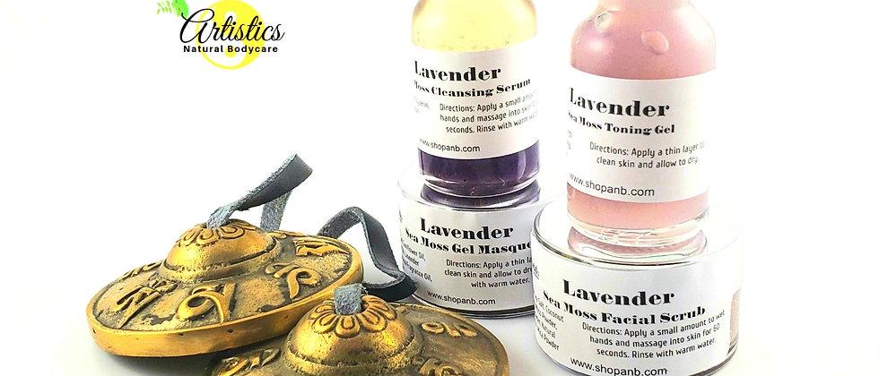 LAVENDER Sea Moss Skincare Collection
