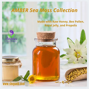 AMBER Sea Moss Skincare Collection
