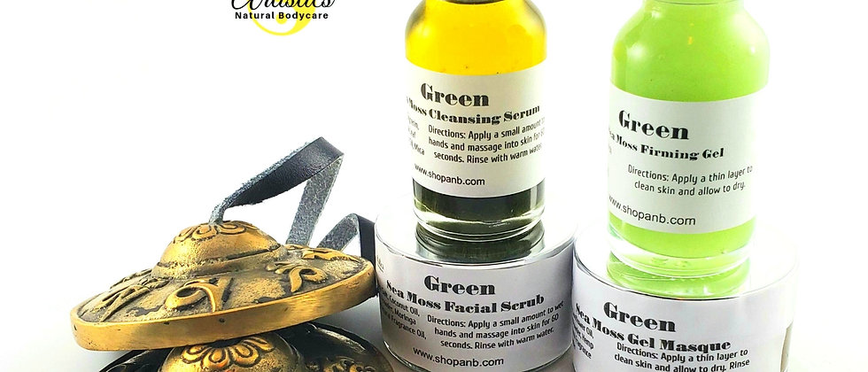 GREEN Sea Moss Skincare Collection