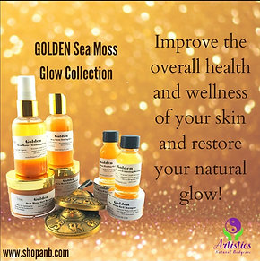 GOLDEN Sea Moss Glow Collection