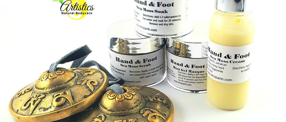 Sea Moss Hand & Foot Kit
