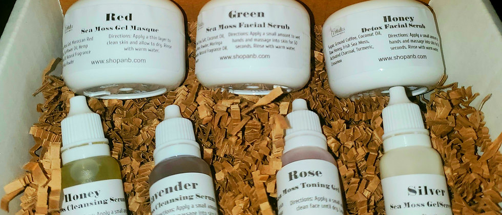 Sea Moss Skincare Sample Box