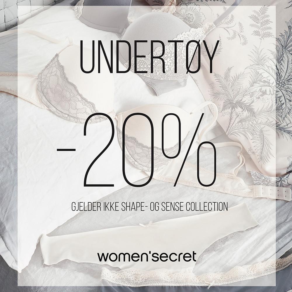 Women'secret undertøy kampanje