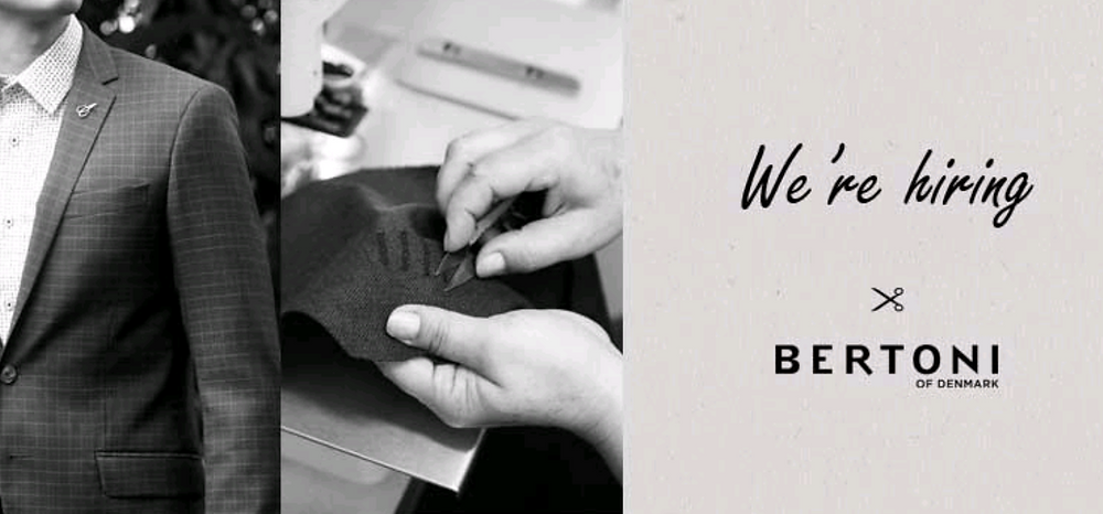 Bertoni dress. we are hiring