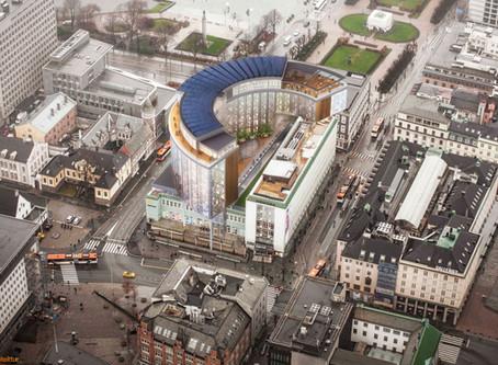 Bergens Tidende: Vil bygge Xhibition-bygningen like høy som Rådhuset