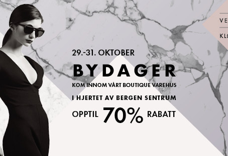byDAGER 29. - 31. oktober!