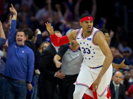 Tobias Harris Returns to the 76ers