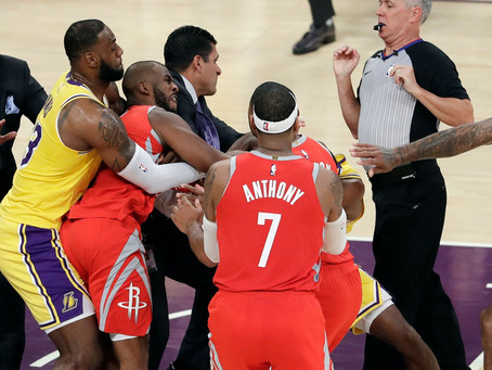 NBA Addresses L.A. Fight, Teams Suffer in the Aftermath