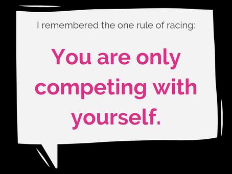 i won a race