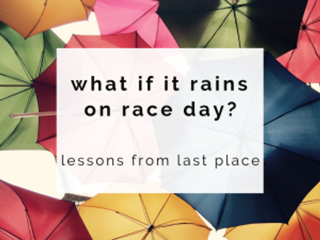 What if it rains on race day?