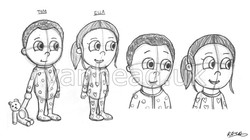 Twins Concept Drawings