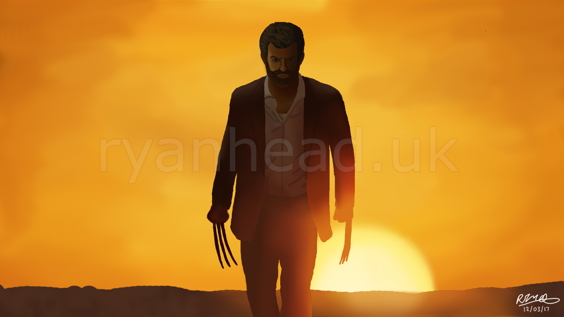 'Logan' Digital Drawing