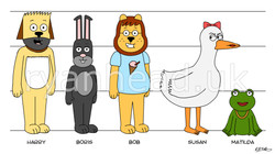 'Pawsville' Character Line-Up 2