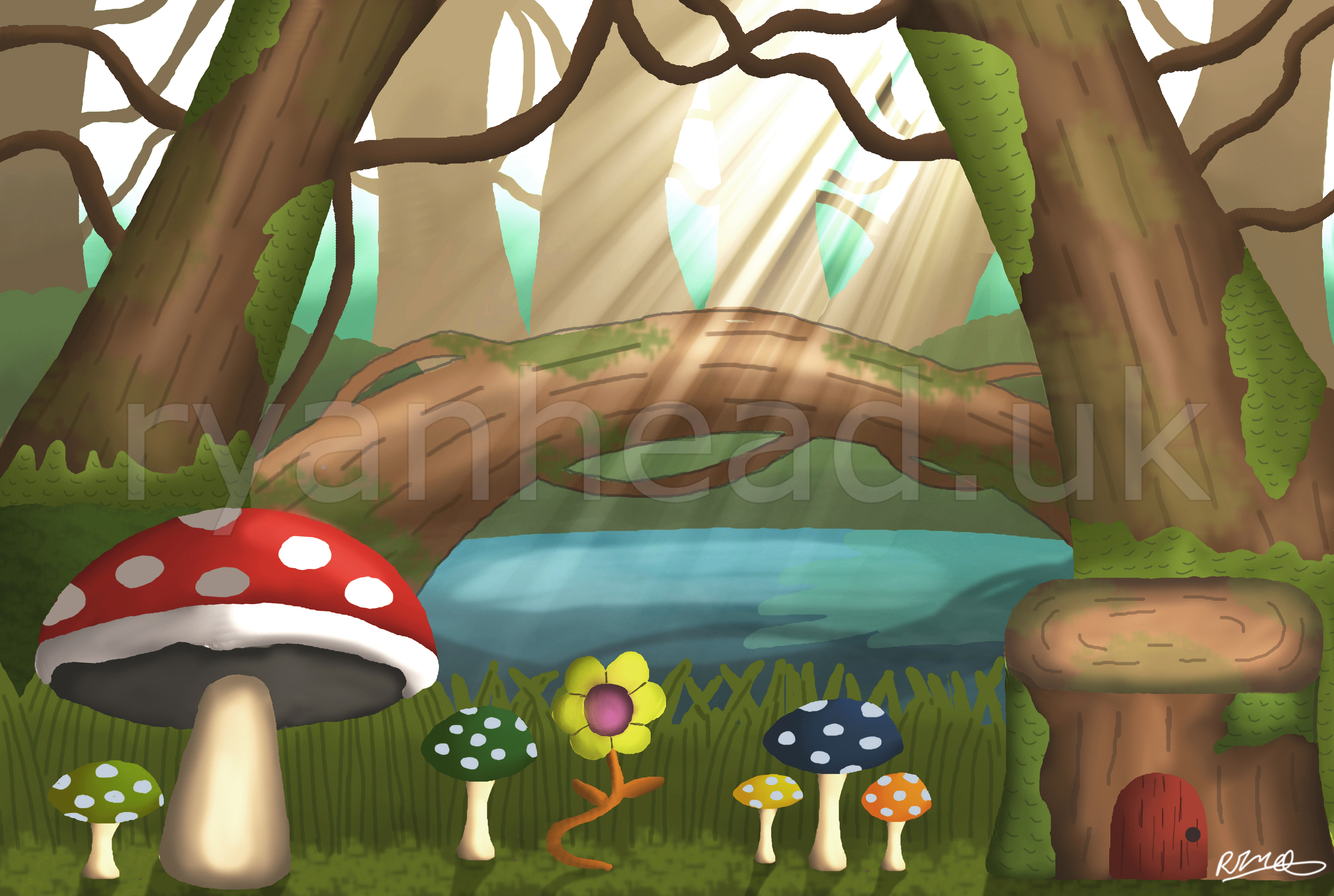 Enchanted Forest Concept Art