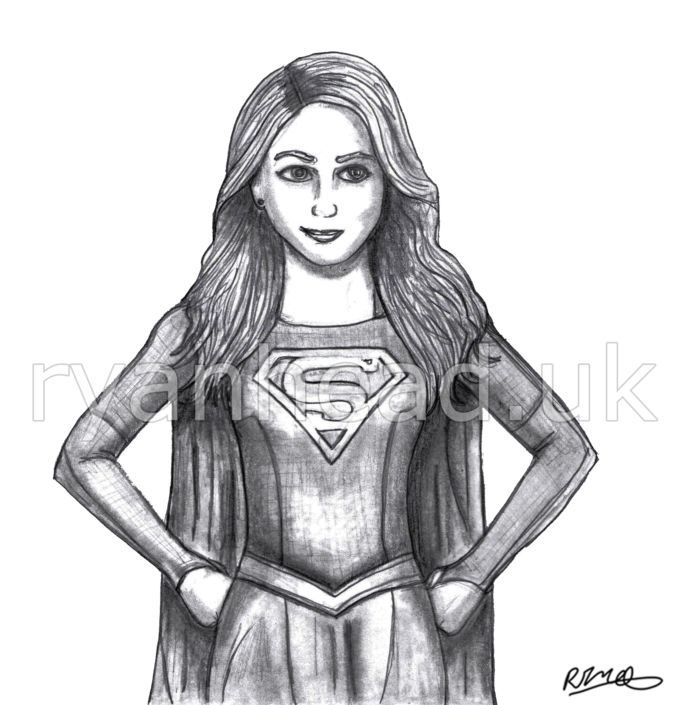 'Supergirl' Sketch
