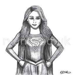'Supergirl' Sketch