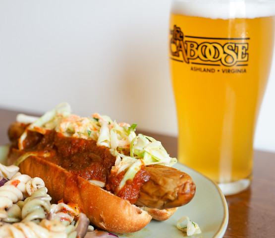 Every Tuesday We Offer Gourmet Hot Dogs