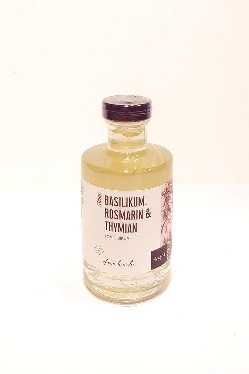 BASILIKUM, ROSMARIN & THYMIAN - TONIC SIRUP Inhalt: 200 ml