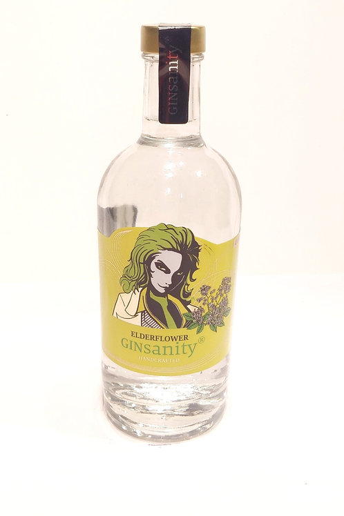 "GINSANITY ""ELDERFLOWER"" Inhalt: 350 ml"