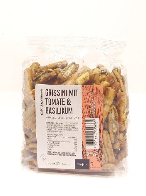 GRISSINI MIT TOMATE & BASILIKUM Inhalt: 200 g