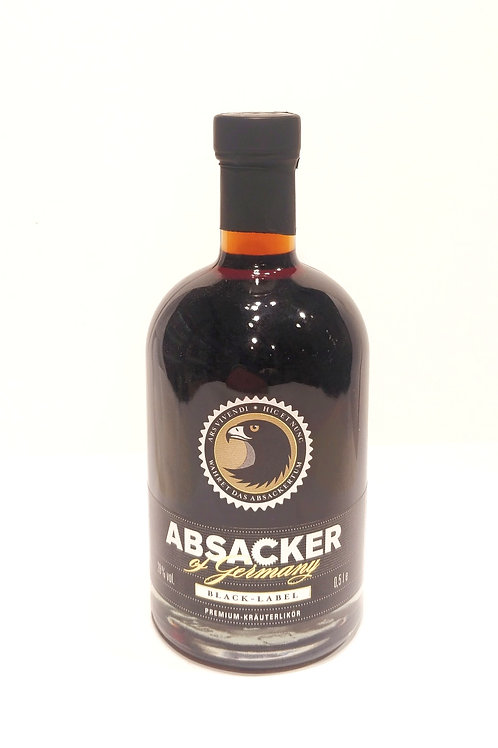 "ABSACKER OF GERMANY ""BLACK EDITION"" Inhalt: 500 ml"