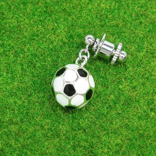 サッカーボールピンバッジ