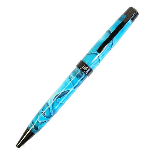 DALLAITI(ダライッティ) ボールペン AKR87T ターコイズブルー イタリア高級筆記具