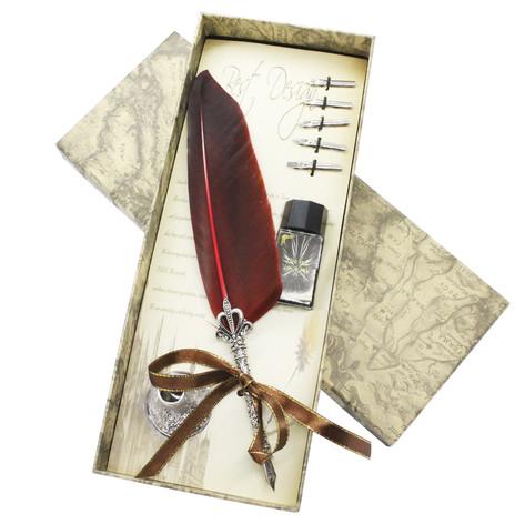 オリジナル羽根ペンセット