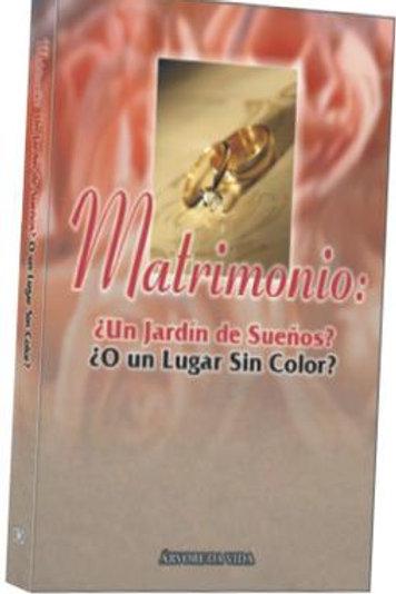 MATRIMONIO: JARDIN DE SUENOS O UNO SITIO SIEN COLOR