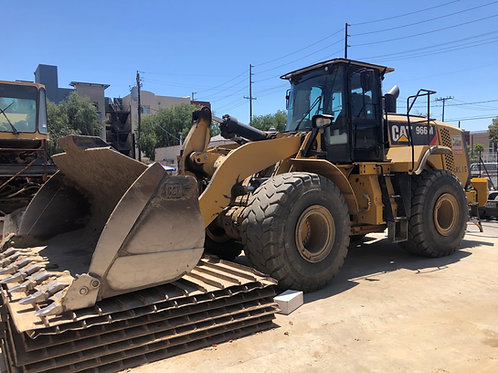 CAT 966M Loader with 5.5 CY Bucket - Tier 4