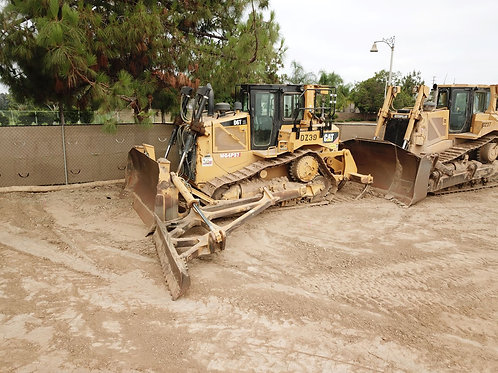CAT D6T Dozer with Slope Boards and Rippers