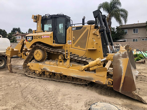 CAT D8T Dozer with Slope Boards and Rippers