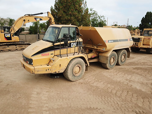 5,000 Gal. CT 725 Articulated Water Truck Tier 3 and Tier 4