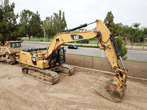 CAT 336F Excavator with Thumb Attachment