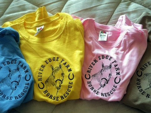 River Edge Farm Horse Rescue T-Shirts