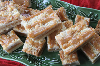 Salted Caramel Shortbread Bars (OH MY!)