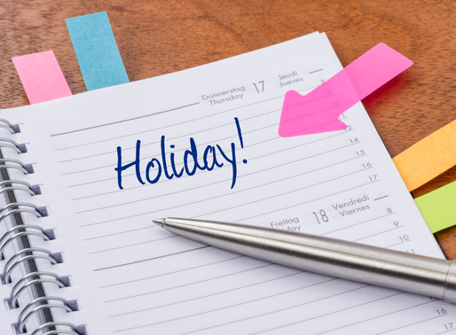 Fall & Winter Holiday Schedule per the Indiana Parenting Time Guidelines