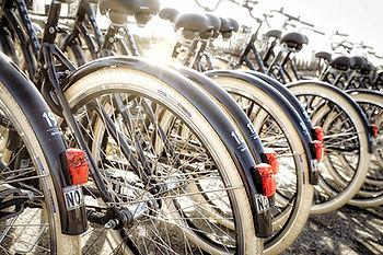 Varberg med cykel