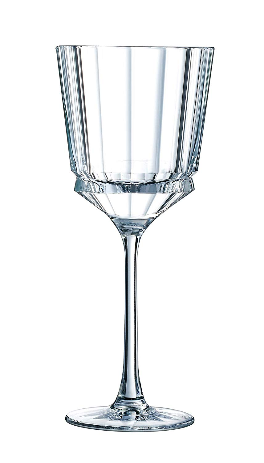 cristal ribbed glass