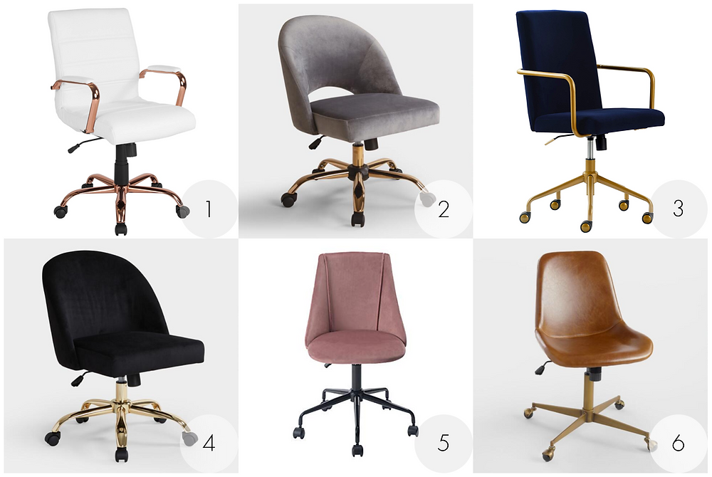 Reasonably Priced Home Office Desk Chairs
