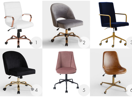 Sitting Pretty: Six Stylish and Reasonably Priced Home Office Desk Chairs